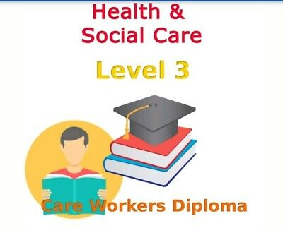 Diploma Health and Social Care NVQ QCFLevel 3 ANSWERS HELP 9 x Mandatory units