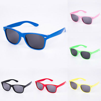 2018 Children Kids Boys Girls Framed Plastic Sunglasses Fashion Eyewear Goggles
