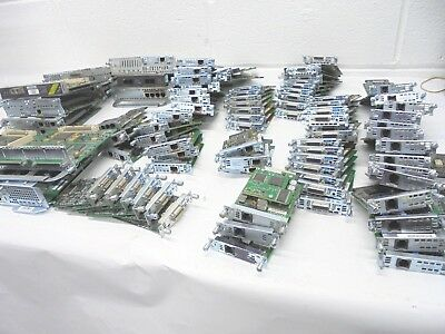 Job Lot 95 x Assorted Cisco Expansion Interface Card Modules  inc.VAT***