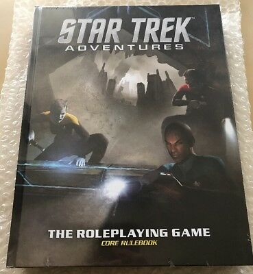 Star Trek Adventures Core Rulebook Role Playing Game - English Version