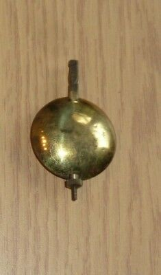 Adjustable mantel clock pendulum c1930 70mm long