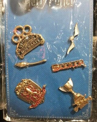 Harry Potter Gryffindor Qudditch Pin Set Primark 6-er Pack