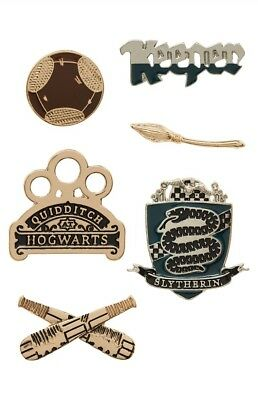 Harry Potter Slytherin Pin Set Primark 6-er Pack
