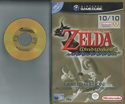 The Legend Of Zelda The Windwaker Gamecube Uk Pal As Picture Wind Waker Only