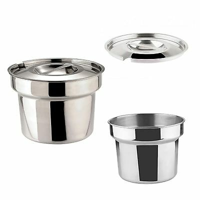 Zodiac Sunnex Round Bain Marie Pot 4 Litre Pan OR Lid Catering Food Warmer NEW