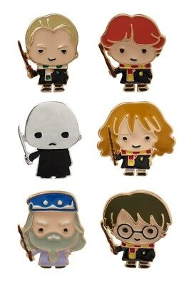 Harry Potter Pin Set Primark 6-er Pack Cute Kawai