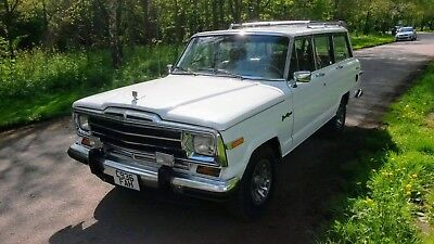 Jeep Wagoneer, 1986 Classic LHD American icon