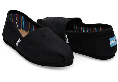 Authentic Mens Toms Classic Canvas Slip On Shoes