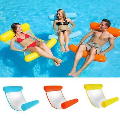 Comfortable Swimming Pool Foldable Inflatable Seat Summer Water Floating Toys