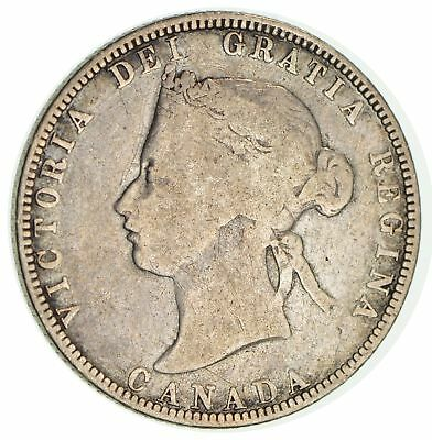 1870 Canada 25 Cents *0044