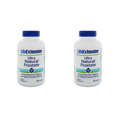 2X Life Extension Ultra Natural Prostate Dietary Supplement Body Healthy Care