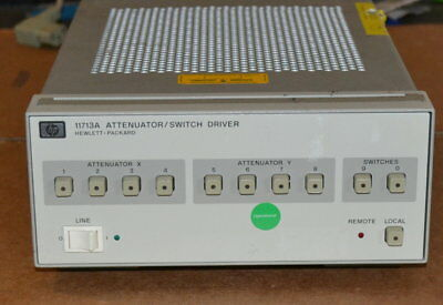 HP Agilent 11713A Attenuator/Switch Driver, GREAT Shape, Five Available GOOD