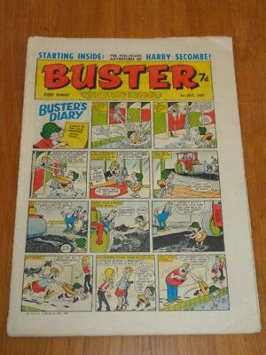 Buster 1St July 1967 Fleetway British Weekly Comic*