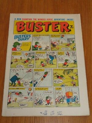 Buster 1St October 1966 Fleetway British Weekly Comic*