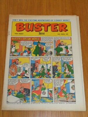 Buster 20Th March 1971 Fleetway British Weekly Comic*