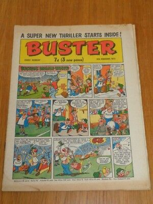 Buster 6Th February 1971 Fleetway British Weekly Comic*