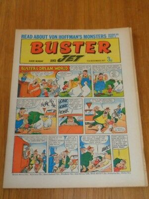 Buster And Jet 11Th December 1971 Fleetway British Weekly Comic*