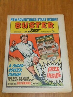 Buster And Jet 16Th October 1971 Fleetway British Weekly Comic*