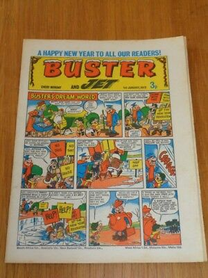 Buster And Jet 1St January 1972 Fleetway British Weekly Comic*