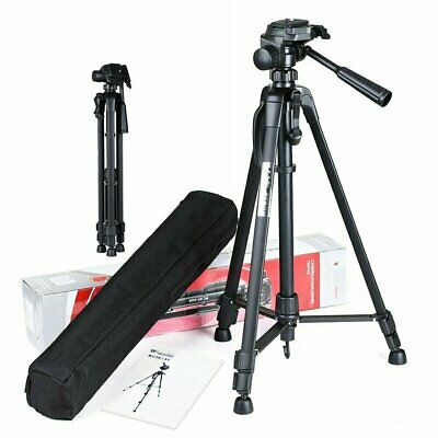 WF-3520 Aluminium Portable Travel Camera Tripod For DSLR SLR Camcorder