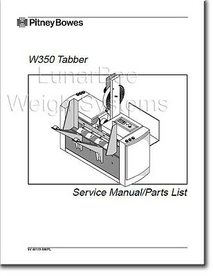 Pitney Bowes W350 Tabber Operator Guide User Manual