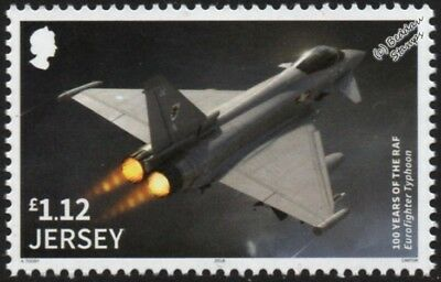 RAF EUROFIGHTER TYPHOON Fighter Aircraft Stamp/2018 Royal Air Force Centenary