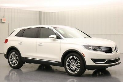 Lincoln MKX RESERVE 3.7 V6 FRONT WHEEL DRIVE SUV MSRP $55532 LINCOLN MKX TECHNOLOGY PACKAGE DRIVER ASSISTANCE PACKAGE 360 DEGREE CAMERA