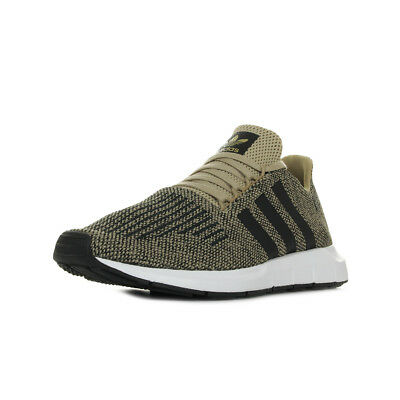 official photos 270d6 992f0 Chaussures Baskets adidas homme Swift Run taille Marron Textile Lacets