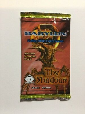 Precedence Babylon 5 Ccg The Shadows Booster Pack Factory Sealed Tcg