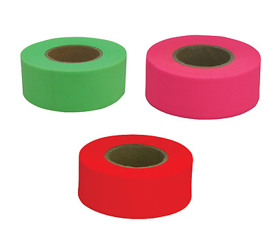 150' CH Hanson PVC Flagging Tape Marking Ribbon HIGH VISIBILITY ~PICK COLOR! New