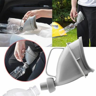 Unisex With Handle Urine Bottle Urinal Funnel Mobile Toilet Portable