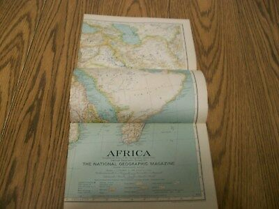 national geographic magazine map of africa 1935