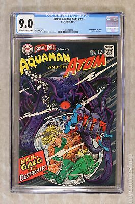 Brave and the Bold (1st Series DC) #73 1967 CGC 9.0 1463754009