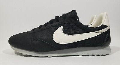 best service 89c11 20e77 Nike Pre Montreal Racer Retro Womens Running Shoes Black White Size 9.5