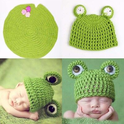 Cute Newborn Photography Prop Costume Cute Cap Pants Baby Photo Props