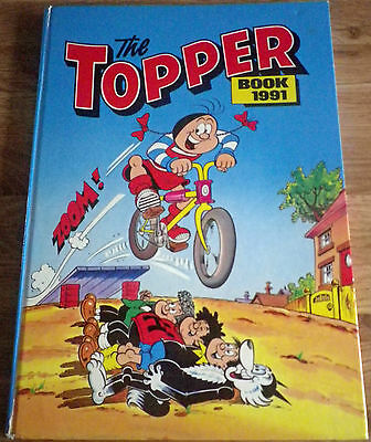 The Topper Book 1991. (Annual) D.C Thomson.