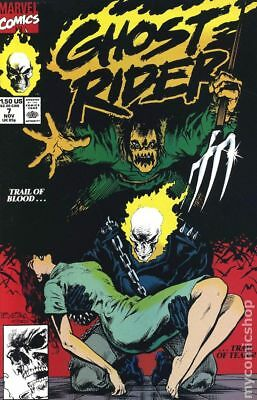 Ghost Rider (2nd Series) #7 1990 FN Stock Image