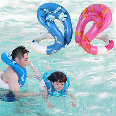 Pool float Seat Arm Floats Circle Kids Adults Life Vest Swimming Laps 3 SIZE