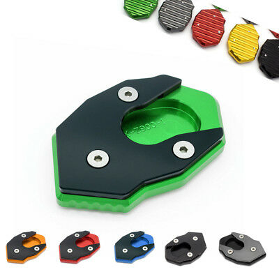 Enlarge Kickstand SideStand Extent Pad For Kawasaki Z900 (2016-2017-2018)/Green