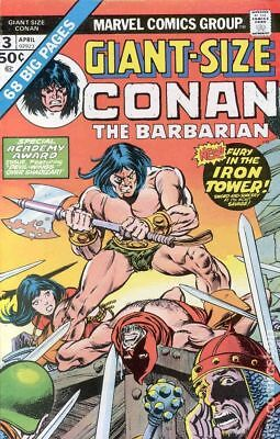 Giant Size Conan #3 1975 FN- 5.5 Stock Image Low Grade