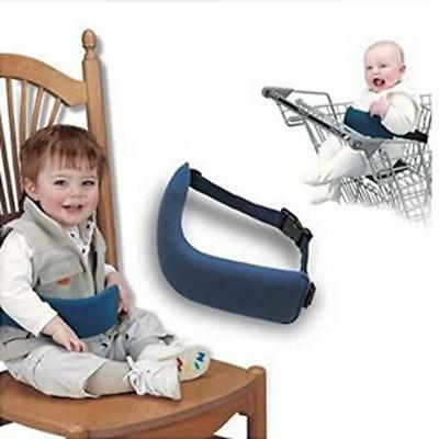 Portable Baby Travel Dinning High Chair Booster Safety Seat Strap Harness Belt C