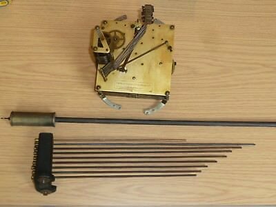 Enfield dual chime movement for Granddaughter clock with pendulum & chime rods