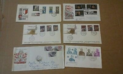 1965 to 1979 Malta Selection of Six First Day Covers