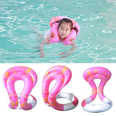 Safety Infant Inflatable Swimming Float Ring PVC Bath Beach Swim Pool Water toy