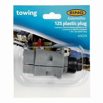 RING 12S 7 Pin Plastic Plug (A0029) Multi One Size