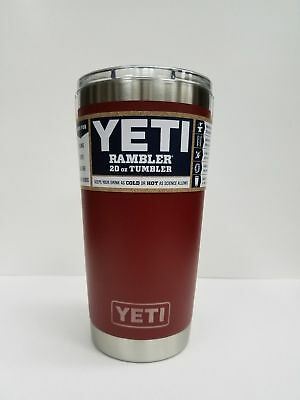 BRAND NEW YETI RAMBLER 20oz Brick Red  COLOR MagSlider Lid  FREE SHIPPING