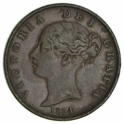 1854 Great Britain 1/2 Penny *0567