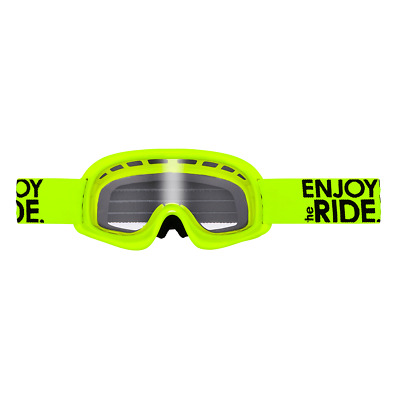 Oneal Kinder Brille Motocross Cross DH Mountainbike MTB Quad Goggle Neon Gelb
