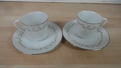 Sheffield Elegance fine china childs cups & saucers Japan