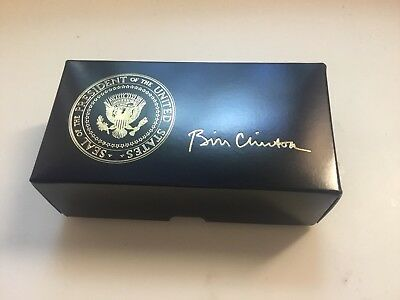 President Bill Clinton Golf Ball Gift Boxes Made By Titelst - 5 Boxes